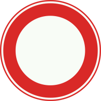 C1 Gesloten in beide richtingen