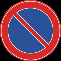 E1 Parkeerverbod