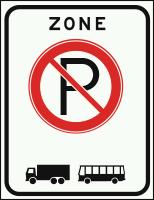 E201ZB Verbod om grote of uitzichtbelemmerende voertuigen te parkeren