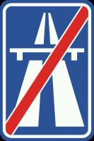 G2 Einde autosnelweg